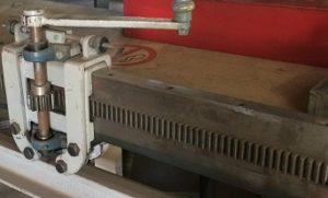 Équipement de fabrication de tuyau de ventilation